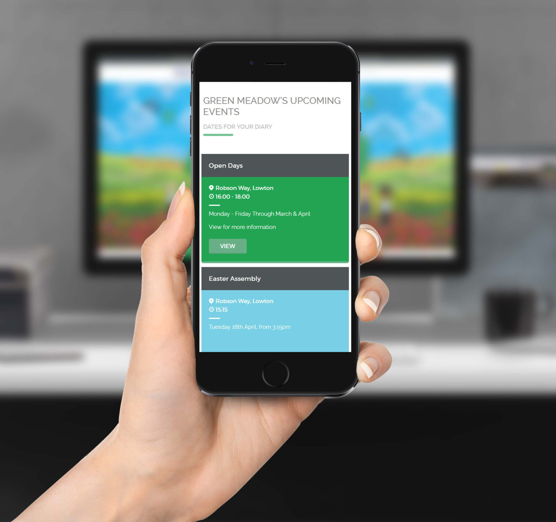 Green Meadow | Mobile Friendly Website Design