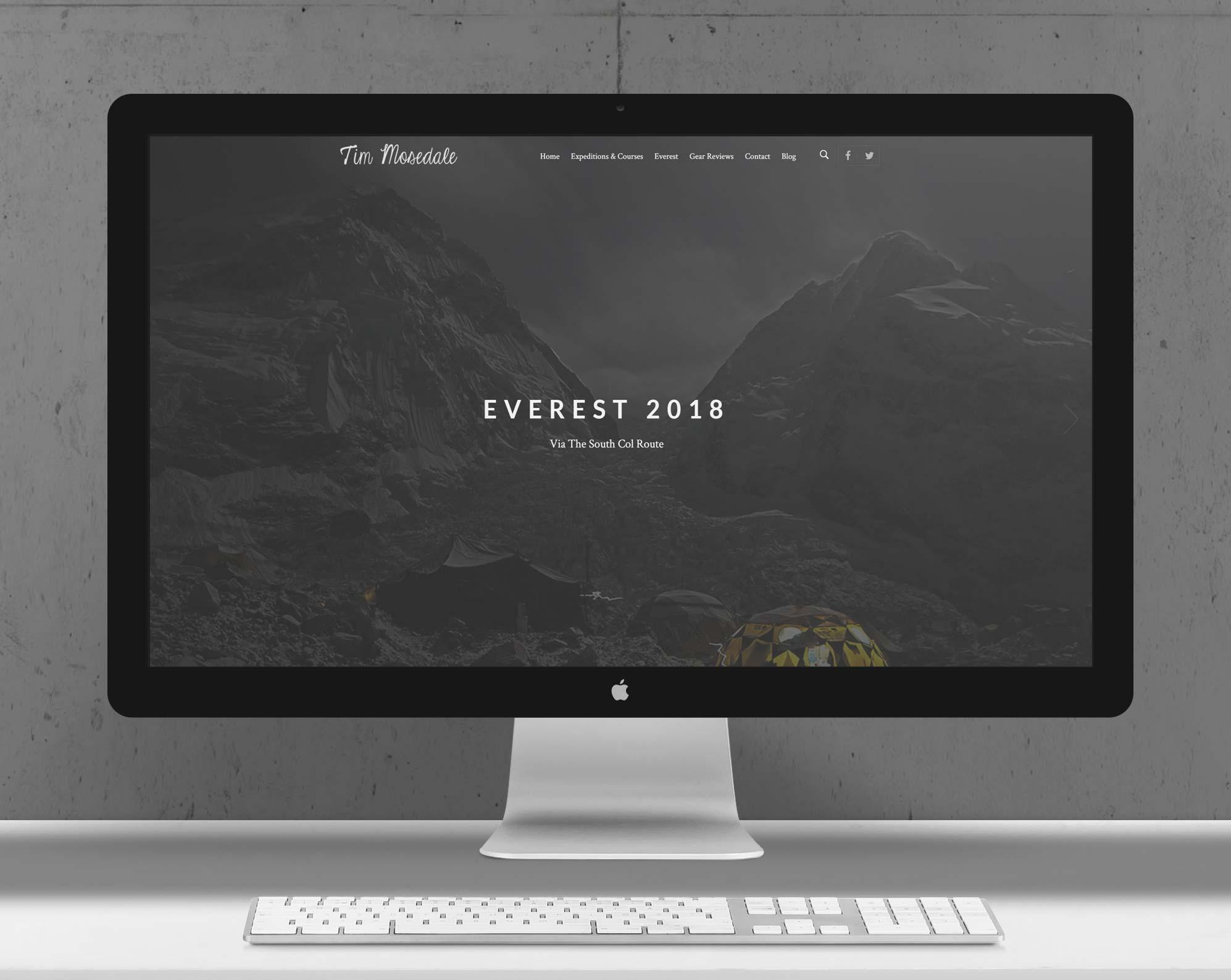 Tim Mosedale | Responsive Website Design