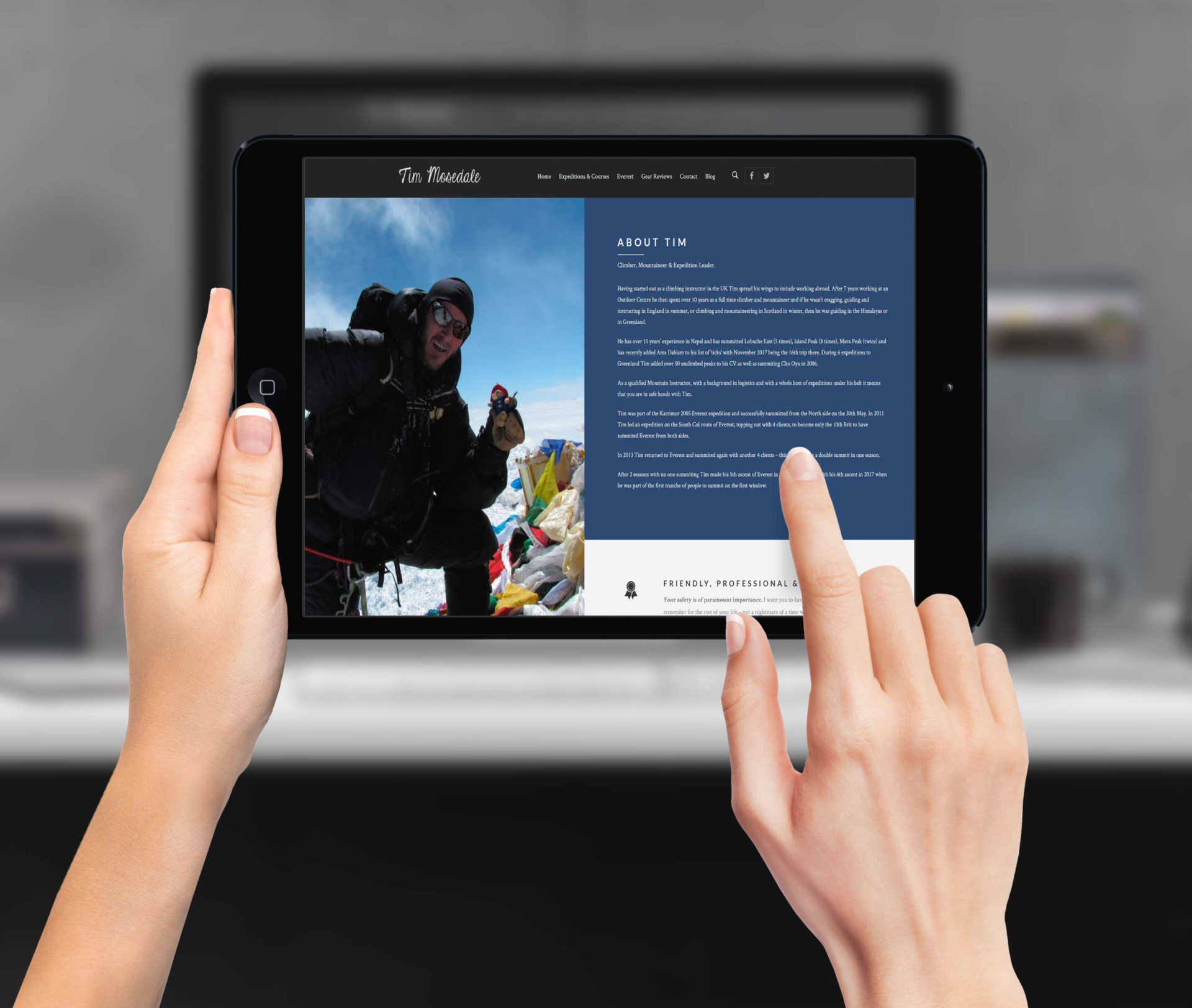 Tim Mosedale | Commercial Website Design