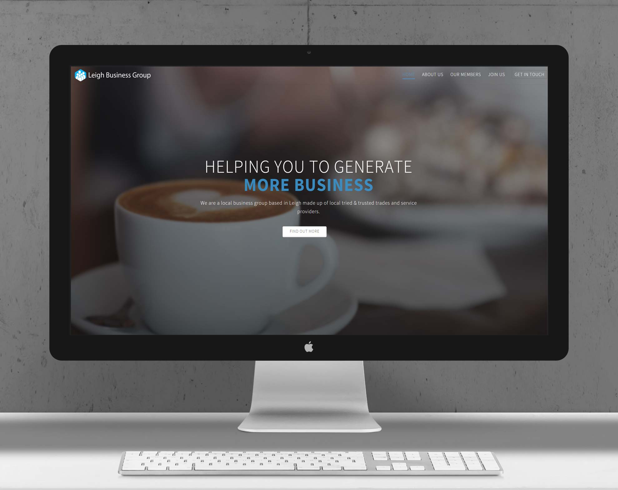 Leigh Business Group | Responsive Website Design