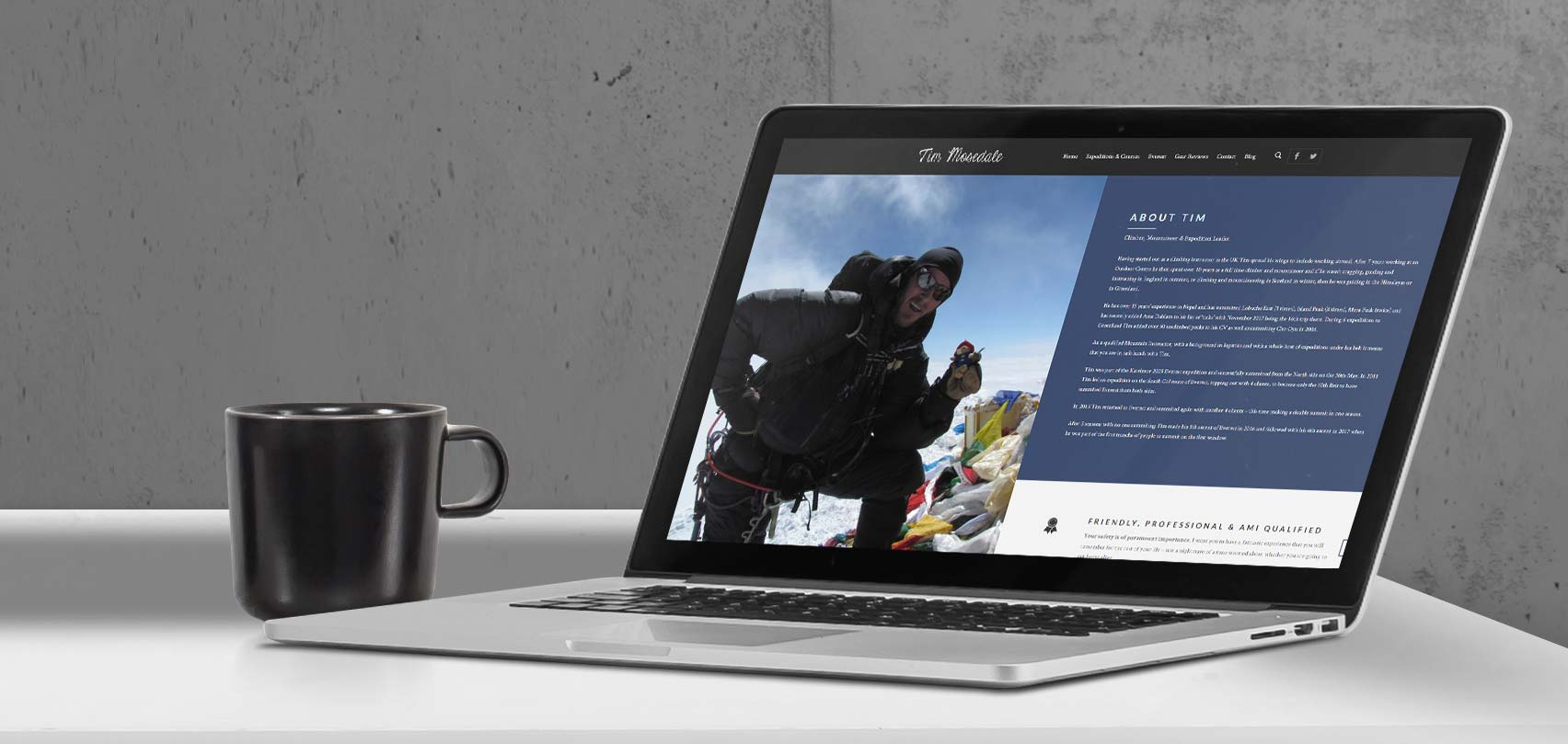 Everest Expedition | Responsive Website Design