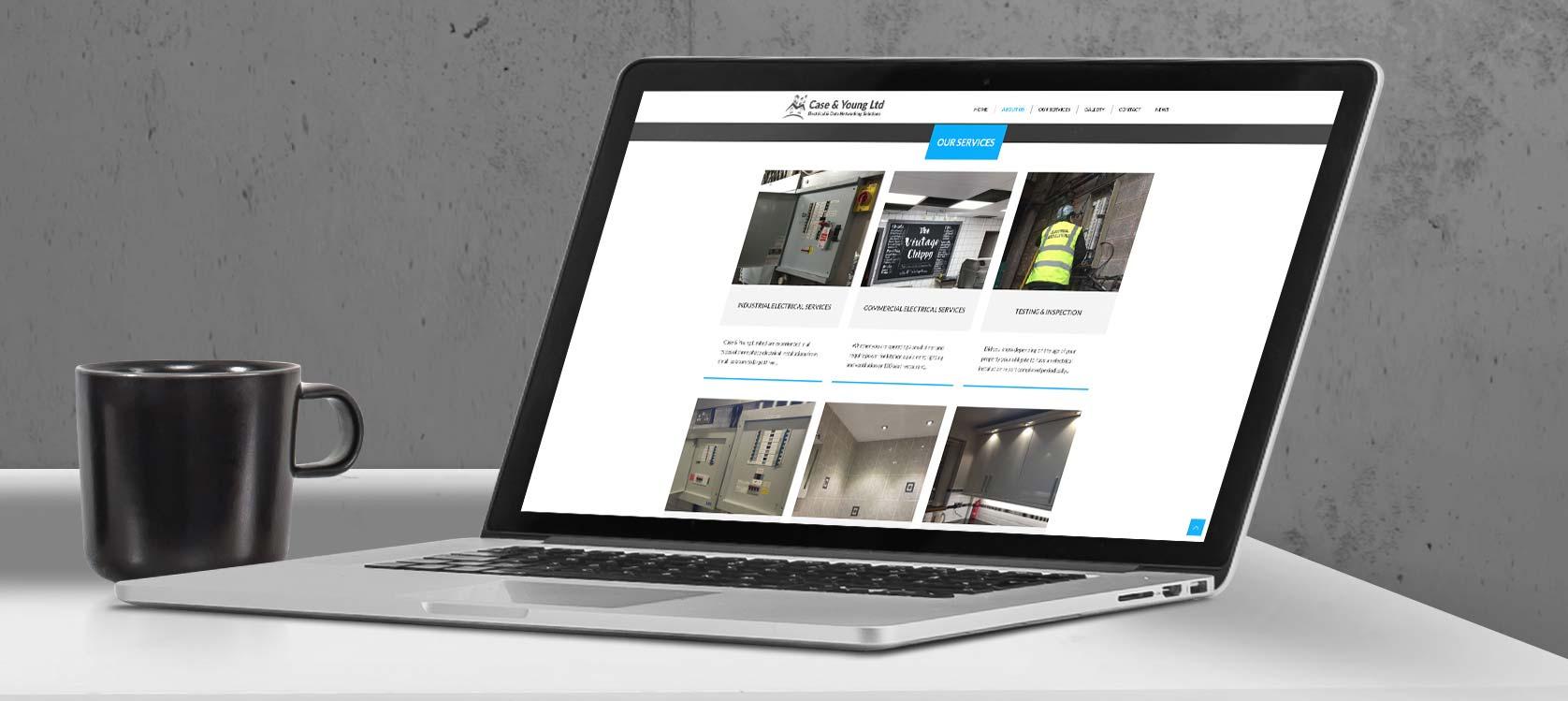 Case & Young Ltd   Responsive Website Design