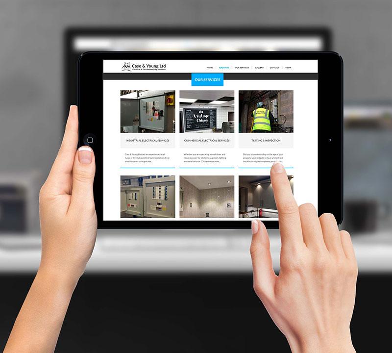 Case & Young Ltd   Commercial Website Design